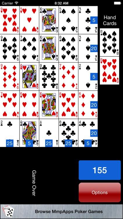 Poker Square - Solitaire screenshot-4