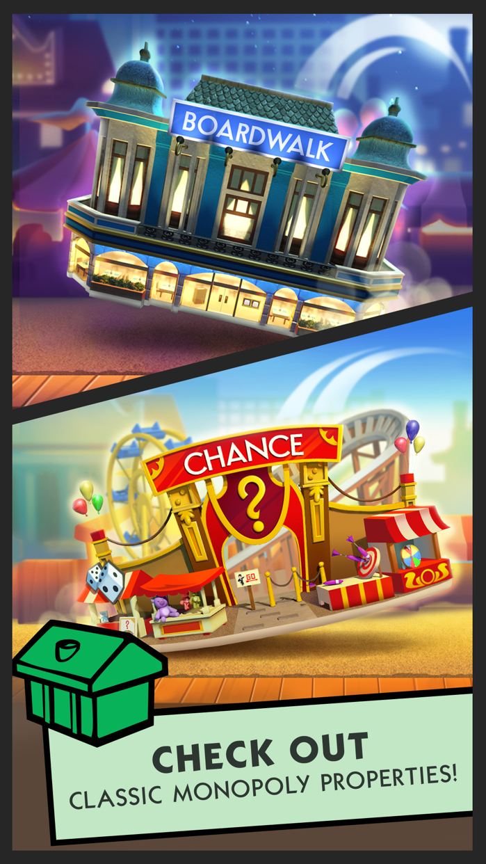 Boardwalk Bingo: A MONOPOLY Adventure Screenshot