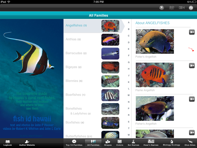 Fish id hawaii pro on the app store for I fish pro