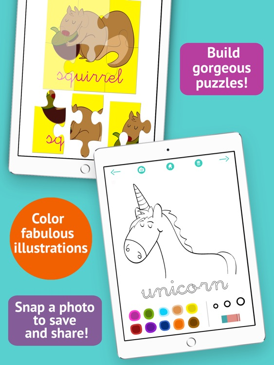 Learn to read and write the vowels - Preschool 2+ screenshot-4