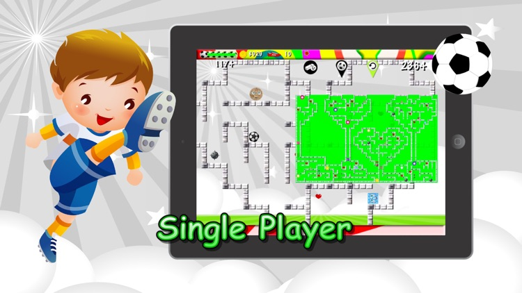 Soccer Mazes 2 Multiplayer screenshot-4