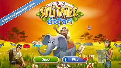Solitaire Safari - Card GameScreenshot von 1