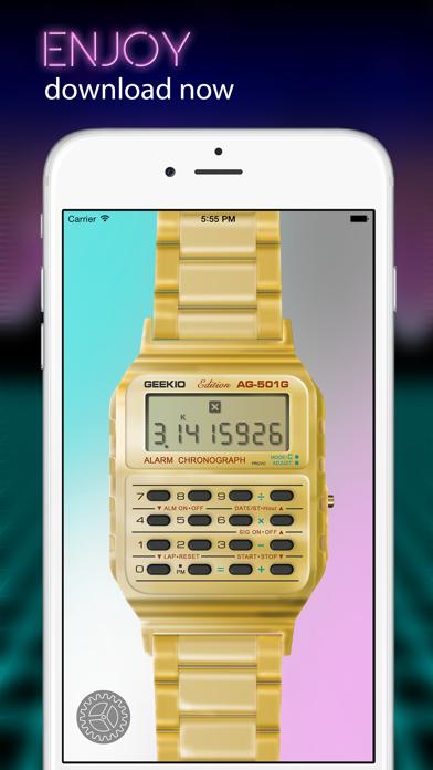 Geek Watch - Retro Calculator Watchのおすすめ画像5