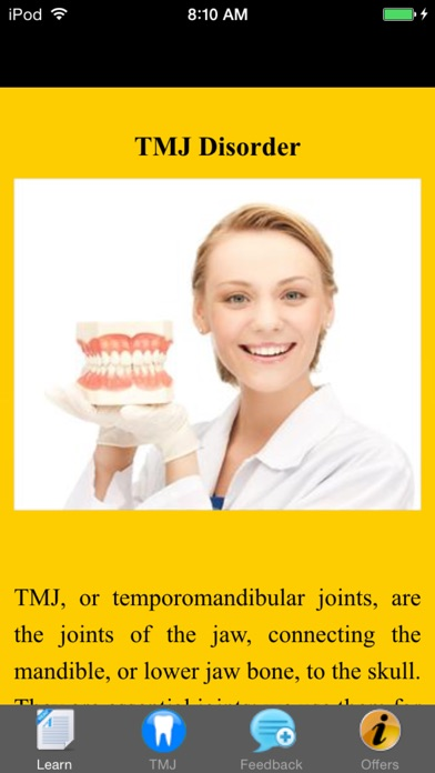 download TMJ Disorder - Suggested Treatment & Remedies apps 3
