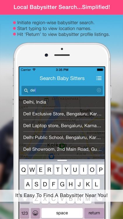 Baby Sitter - Find a nanny near you! screenshot-3
