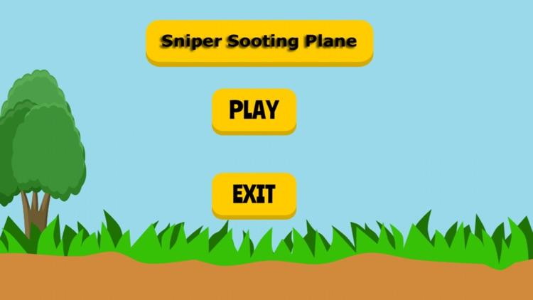 Sniper Shooting Plane -  Best Sniper Shooter Simulator HD Game screenshot-3