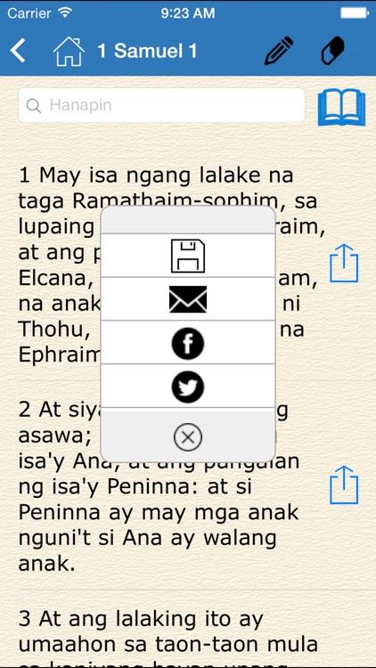 Ang Dating Biblia (Bible in Filipino - Tagalog)