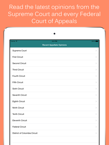 Federal Rules & Opinions - Court Caddy | App Price Drops