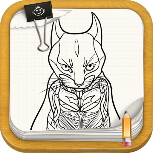 Learn How To Draw Superheroes Cats