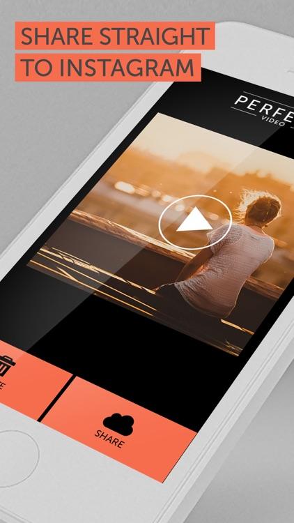 Perfect Video - Square Shape & Trim Videos for Instagram screenshot-4