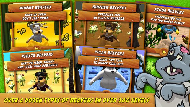 Beaver Smash, game for IOS
