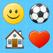 Emoji Emoticons Keypad — Color Keyboard Themes and Emojis Art