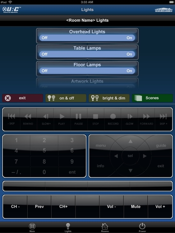 Total Control Mobile Pad screenshot-3