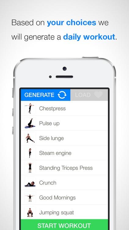 QUICKSTART FITNESS by Virtual Trainer screenshot-3