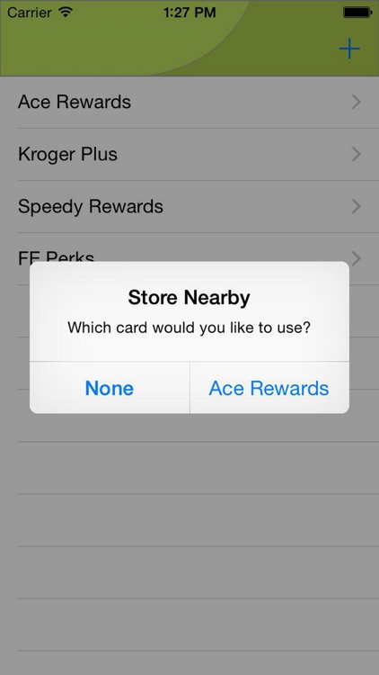 Mobile Key Ring - Barcode Rewards Shopper's Card screenshot-0