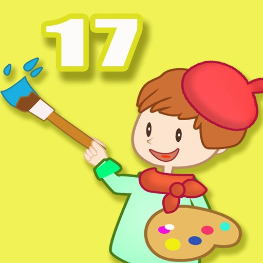 ABC Coloring Book 17 - Making the numbers colorful