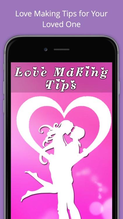 Love Making Tips.