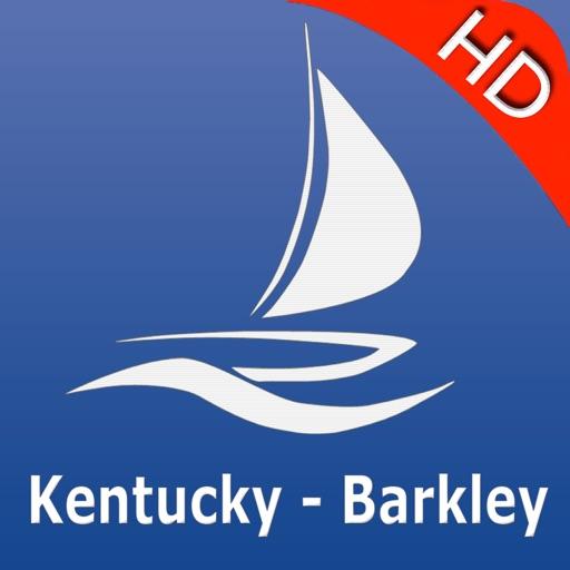 Kentucky Lake and Lake Barkley HD GPS Nautical charts