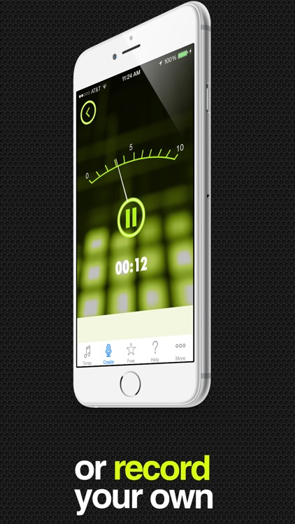 ToneCreator Pro - Create text tones, ringtones, and alert tones! screenshot-2