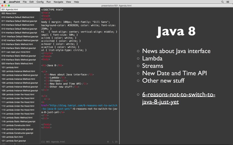 Javapoint review screenshots