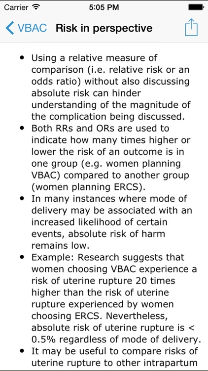VBAC Resource for Midwives