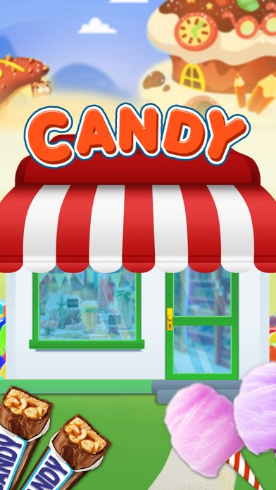 Sweet Candy Store: Candy & Lollipop Maker