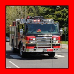 Fire Truck Puzzles Extreme! XL