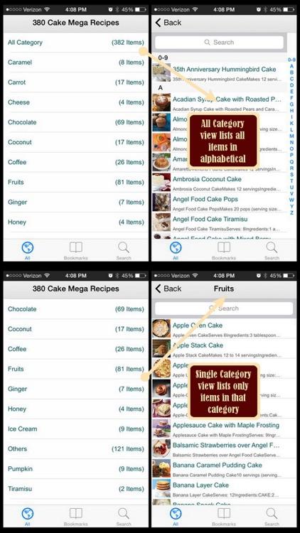 380 Cake Mega Recipes screenshot-3