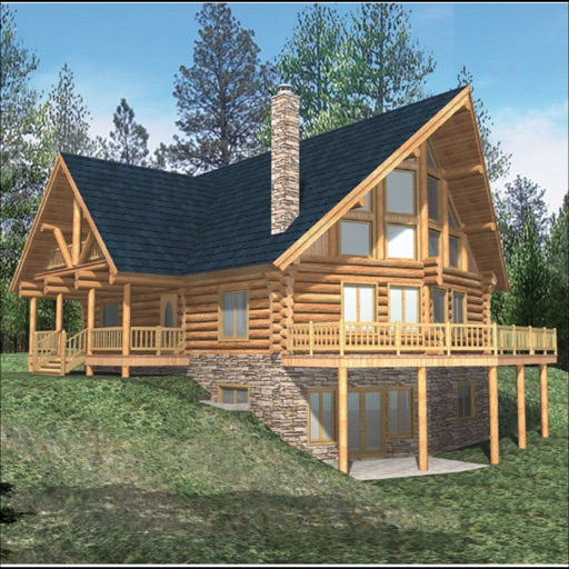Log Style - House Plans icon