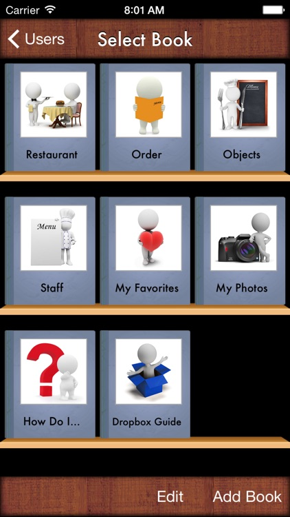 i Get    Going to a Restaurant Vocabulary Photo Books and Social Stories by  I Get It, LLC