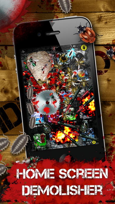 iDestroy Reloaded: Avoid pest invasion, Epic bug shooter game with crazy war weapons screenshot one