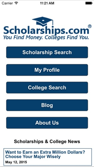 Scholarships com on the App Store