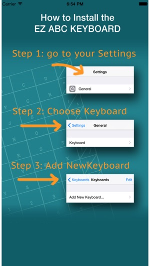 Ez Abc Keyboard On The App Store