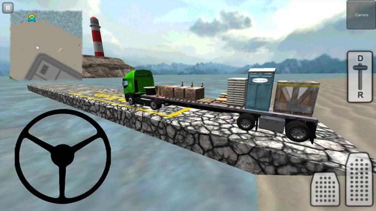 Truck Driver 3D: City screenshot-3