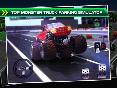 monster truck parking simulator 3d car bus driving racing games