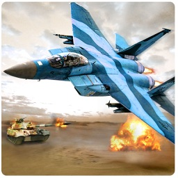 Fighter Jets Tank Attack War 3D