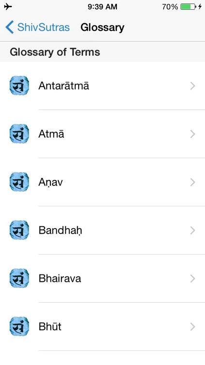 Shiv Sutras
