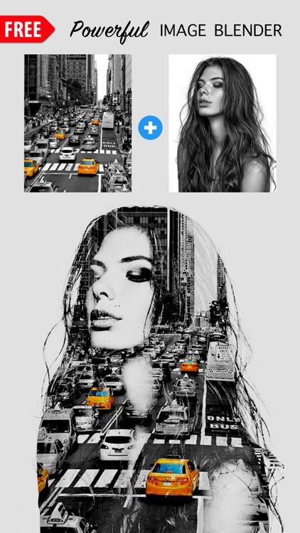 Photo Merger Best Photo Edit SuperImpose Editor screenshot-0