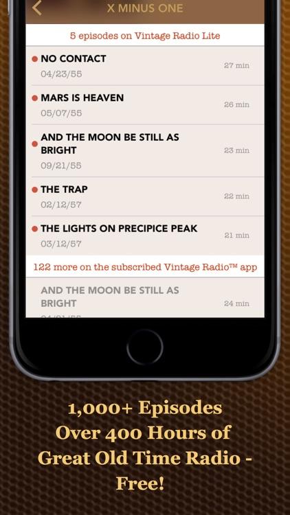 Vintage Radio Lite screenshot-4