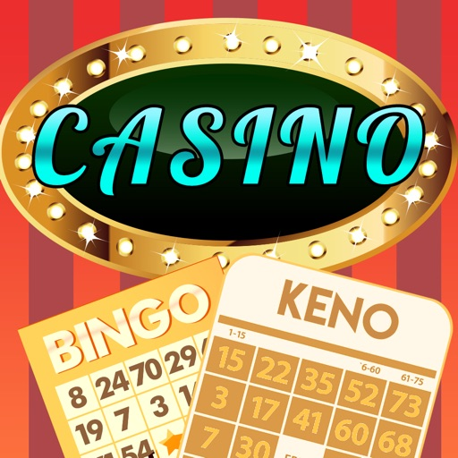 Casino House of Keno Blitz and Bingo Balls with Big Prize