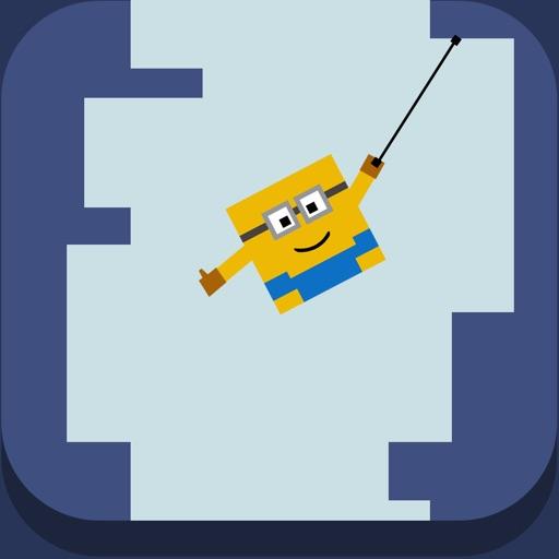 Mr. Banana : Rope Swing- Endless Climb Tower