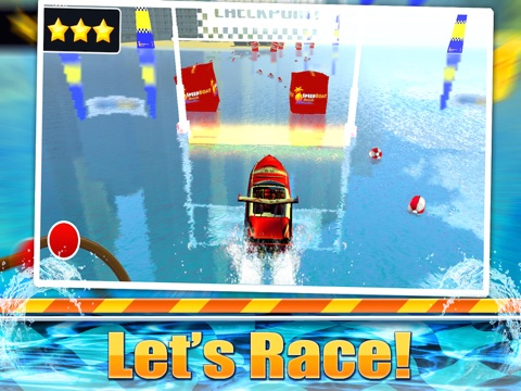 Speed Boat Sea Parking Racer-ipad-3