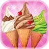 冰淇淋 - 免费游戏 - 与主机香料和配料的制作自己的甜蜜雪糕筒!!!