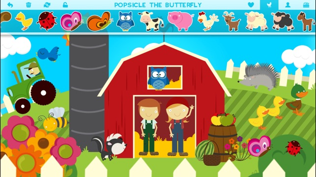 Farm Story Maker Activity Game for Kids and Toddlers Premium Screenshot