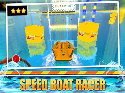 Speed Boat Sea Parking Racer-ipad-0