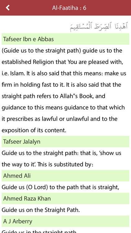 Quran & English Translation ( Text & Audio ) screenshot-3