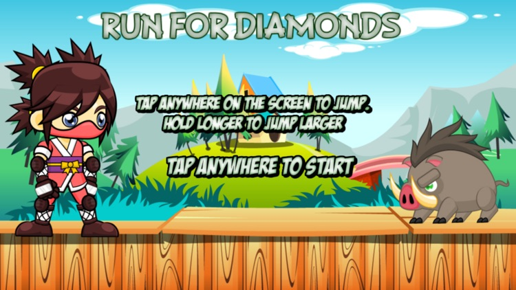 Run For Diamonds screenshot-0