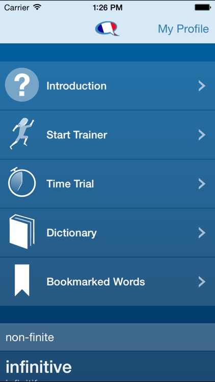 French Verbs Trainer screenshot-4