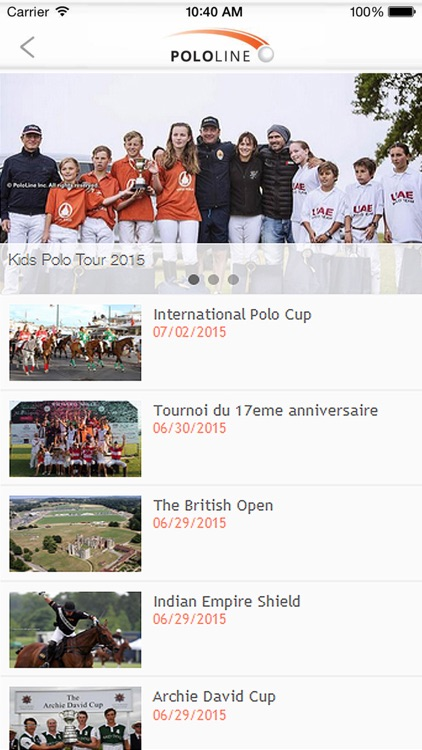 Pololine.com screenshot-4
