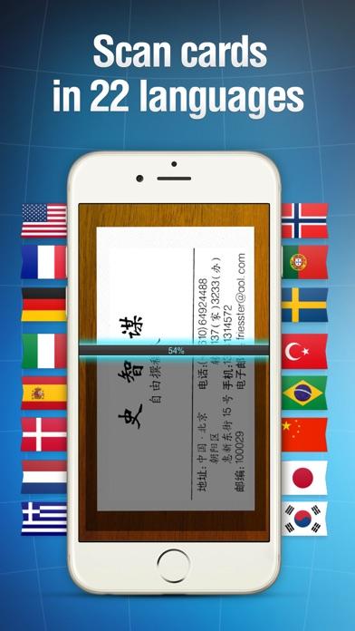 Business Card Reader Pro Screenshots